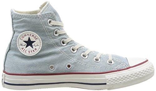 Converse All Star Hi Denim - Zapatos Unisex adulto Light Blue Denim Washed