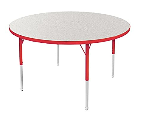Marco Group Round Adjustable Activity Table, 42