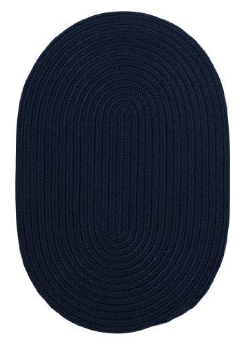 UPC 884381366647, Boca Raton Polypropylene Braided Rug, 7-Feet by 9-Feet, Navy