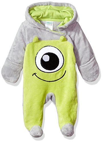 Disney Baby Boys' Monsters Inc Pram, Green Glow, 3-6 Months