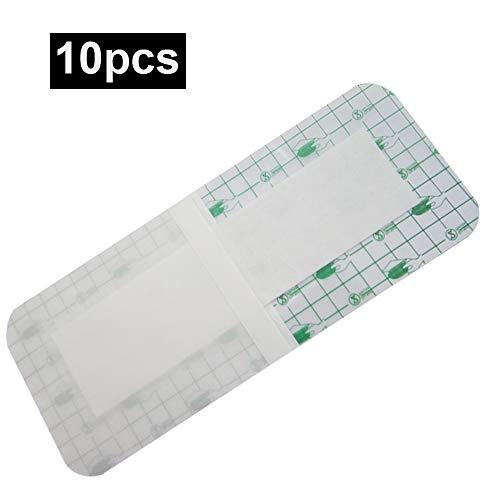 Carejoy Medical Wound Dressing, 10pcs Disposable Sterile Self-Stick Waterproof Trauma Bandage-Latex Free by Carejoy