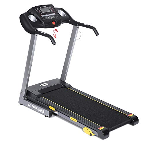 MaxKare-Treadmill-with-15-Pre-Set-Programs-25HP-Power-Wide-Tread-Belt-85-MPH-Max-Speed-LCD-Screen-Cup-Holder-Wheels-Easy-AssemblyFolding-Running-Machine-Black-801
