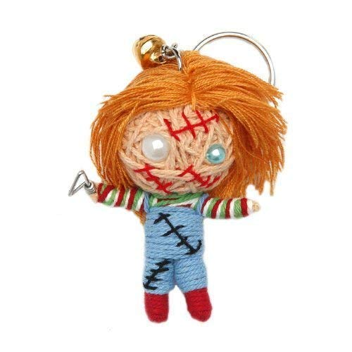 Chucky Voodoo String Doll Keychain