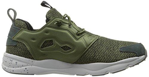 Reebok Mens Furylite Gw Fashion Tanga Per Sneaker Verde