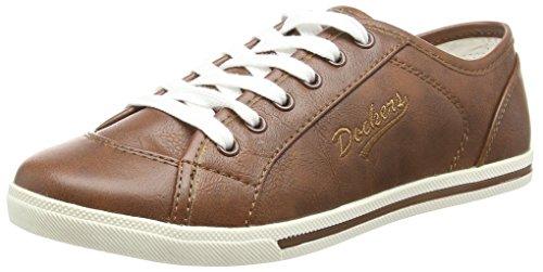 Dockers Par Gerli Damen 27ch221-610410 Chaussures De Sport Braun (reh 410)