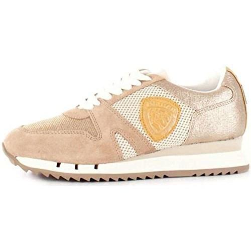 GLI Sneakers USA Beige S8MADISON02 Blauer Donna 0qEw8t