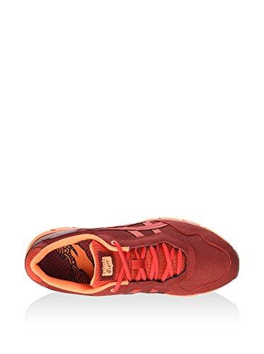 Asics - Zapatillas de running para hombre Rojo Oscuro / Rojo