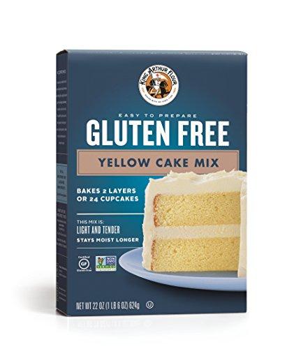King Arthur Flour Gluten Free Yellow Cake Mix, 22 Ounce