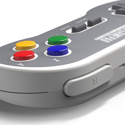 HIOTECH Wireless Controller 2.4GHz Wireless 8Bitdo SN30 Classic Video Game Joystick Gamepad for Super NES / SFC / SNES Classic Edition (Color)) by HIOTECH (Image #1)