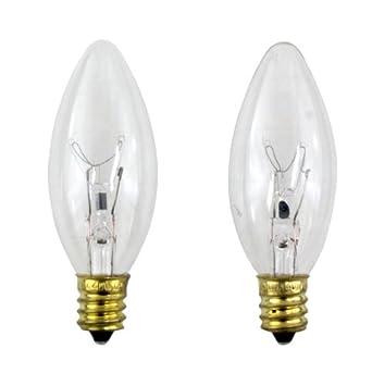 Philips 40 Watt Clear Ceiling Fan Light Bulbs Candelabra