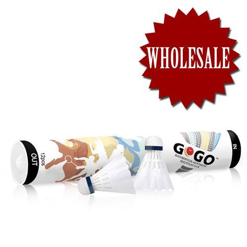 GOGO. Badminton Shuttlecocks SY03, Premium Nylon Shuttlecocks B001J63QVO