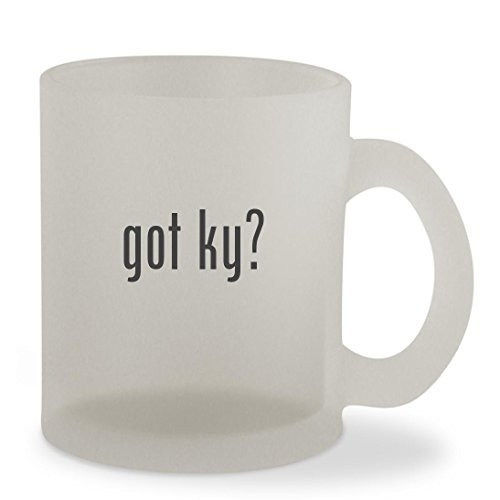 got ky? - 10oz Sturdy Glass Frosted Coffee Cup Mug