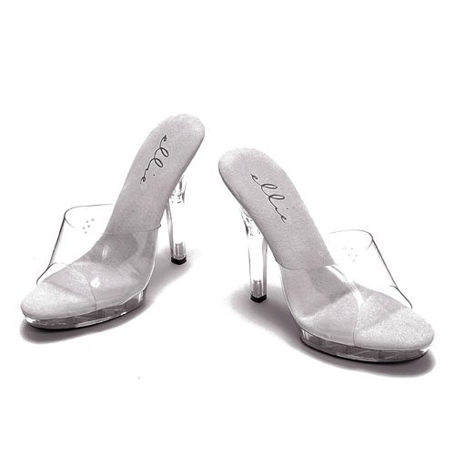 Ellie Shoes Women's M-Vanity, Clear 8 M US -