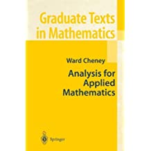 Analysis for Applied Mathematics