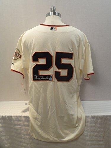 Barry Bonds Signed San Francisco Giants Authentic Autographed San Francisco Giants Jersey