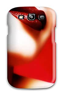 Hot 7875891K66235514 New Perfect Lips Tpu Cover Case For Galaxy S3