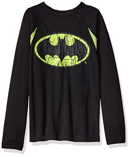 Batman+Shirts Products : DC Comics Big Boys' Batman Logo Long-Sleeve Knit Tee