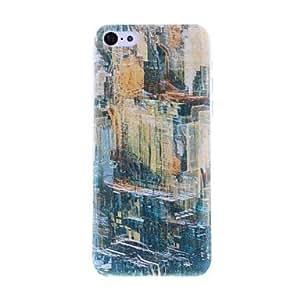 comprar Ciudad de la pintura al óleo del patrón PC caso duro para el iPhone 5C