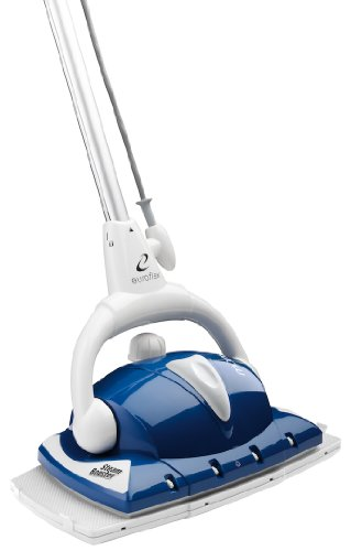 Monster EZ1-XL Pro Floor Steamer - Cleans, Mops & Disinfects by Emitting Bottom & Frontal Dry Steam - NEWEST MODEL - Includes Carpet Glide & 2 Extra-Large Microfiber Pads (Floor Steamer Eureka compare prices)