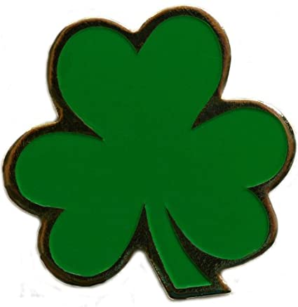 Image Unavailable. Image not available for. Color  Lucky Shamrock Shaped Golf  Ball Marker with Matching Hat Clip 9af312fc8a92