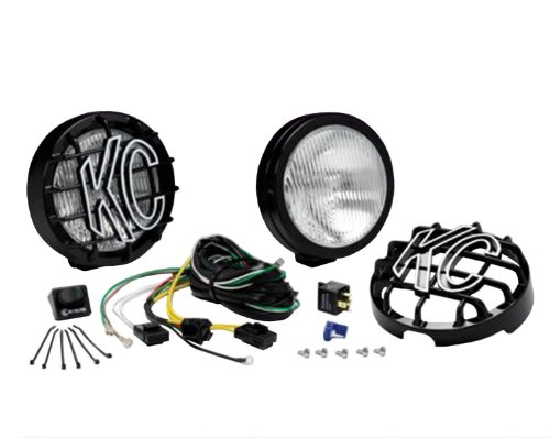- KC HiLiTES 127 SlimLite Black 100w Fog Light System