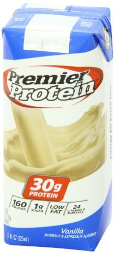Premier Nutrition High Protein Shake, Vanilla, 11 oz. (Pack of 36)
