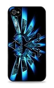 Zelda Glowing Blue Triforce - Black Hardshell Case for iPhone 5C - 438