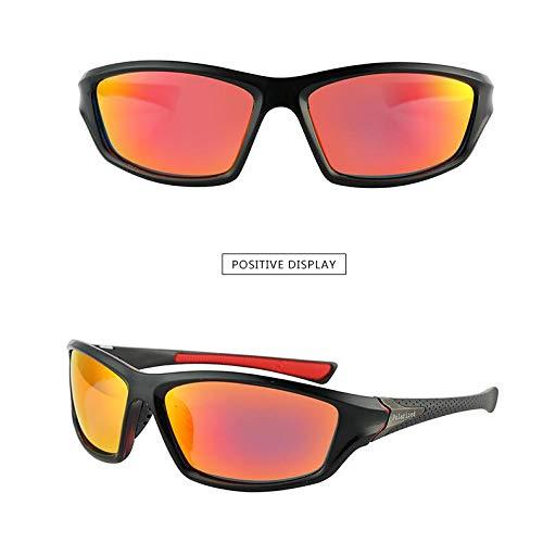 de Blanco Burenqiq Gafas de polarizadas Gafas Libre de de film Classic Sol conducción Gafas al Sol Sol de Aire Gafas Red Marco Hombres Ciclismo SWnSw5x1