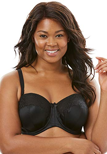 Goddess Women's Plus-Size Adelaide Underwire Strapless Bra Underwear, Black, - Strapless Underwire