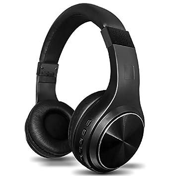 YOPEEN Auriculares Bluetooth en la oreja, unos auriculares inalámbricos Bluetooth con micrófono, plegable suave