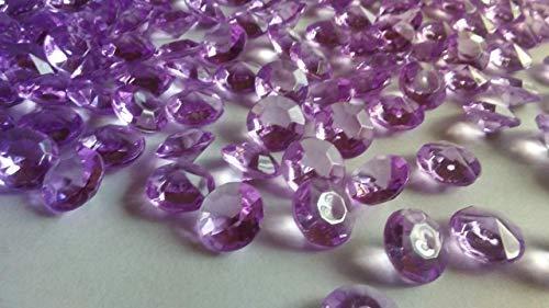 Neuf 400 Diamants (Clair Mauve) Decostones Acrylique Dé coration de Table pour É pandre Cristal 10 mm 10 cm pour Mariage, Pâ ques Pâques Bastekrace