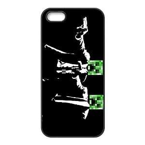 iPhone 5, 5S Phone Case Minecraft F5G7437
