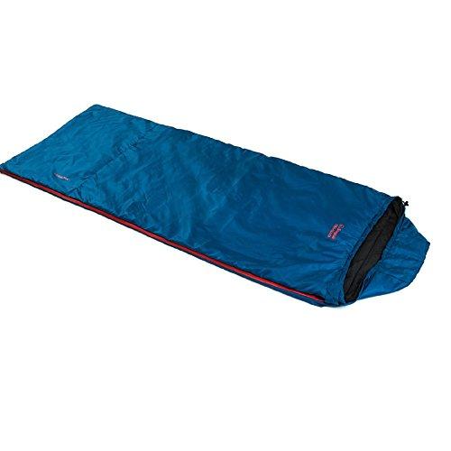 Bag Sleeping Jungle - SnugPak Travel Pak Traveler Lh Zip Sleeping Bag, Petrol Blue