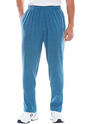 KingSize Cotton Jersey Open Bottom Pants
