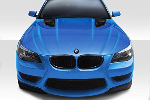 (Duraflex ED-ZWW-237 DTM Hood - 1 Piece Body Kit - Compatible For BMW 5 Series 2004-2010)
