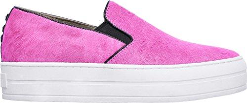 Skechers Kvinna Höjningen Lurviga Vän Slip-on Flatform Sneaker Hot Pink