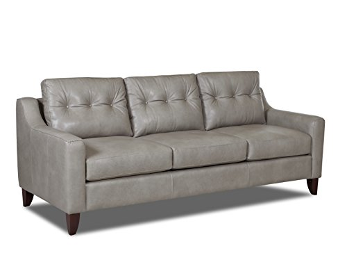 Klaussner Audrina Leather Sofa, Brown - Klaussner Home Furniture