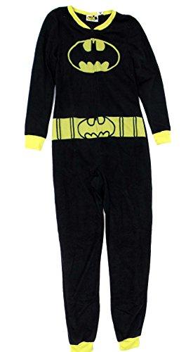 Batgirl Fleece Onesie Pajama Juniors XL