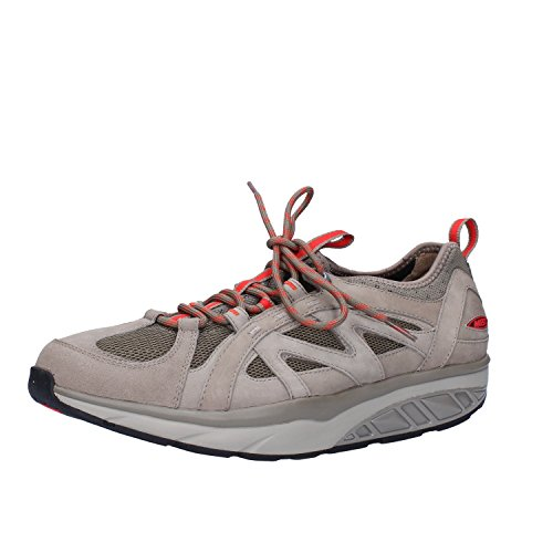 MBT Sneakers Uomo 42 EU Beige Nabuk Tessuto