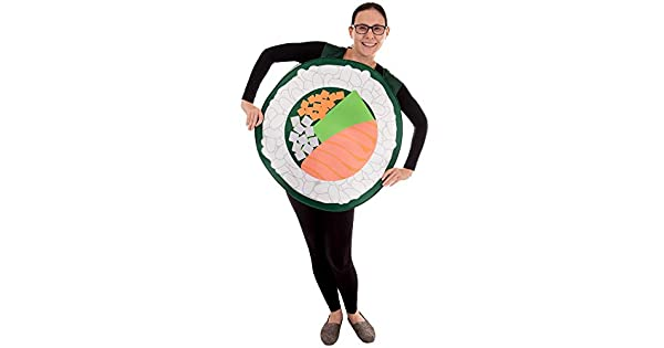 Amazon.com: Disfraz de Halloween de Salmon Sushi Roll ...
