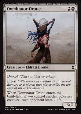 Magic: the Gathering - Dominator Drone - Battle for (Dominator Single)