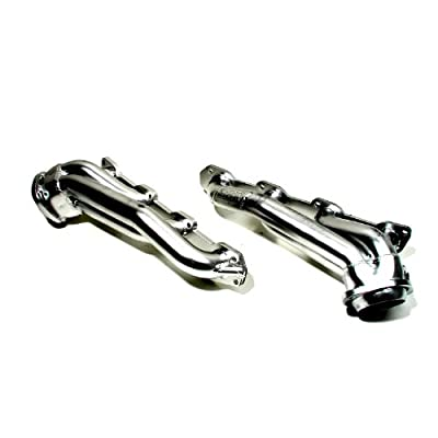 "BBK 4012 1-3/4"" Shorty Tuned Length Performance Exhaust Headers for Dodge Charger, Challenger, Magnum, Chrysler 300 5.7L Hemi - Chrome Finish"