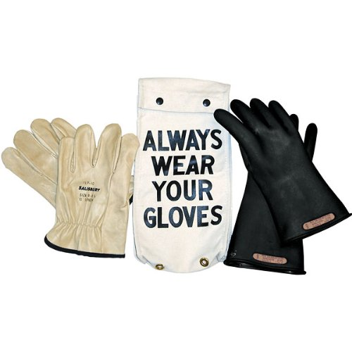 8643508 Salisbury Insulated Glove Kit, Class 00, Black, 11