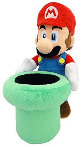 Little Buddy Mario Warp Pipe Plush, 9