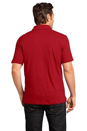 In Classic Red Tinta Da Dm350 District polo Uomo Shirt 4I01wOqO