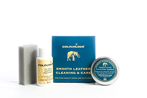 Colourlock Leather Handbag Cleaner & Polishing kit - Ideal kit to Clean, Polish and Protect Bags ()