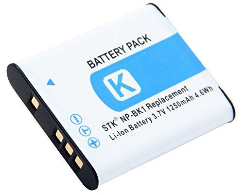 STK NP-BK1 NP-FK1 Battery for Sony Cybershot MHS-PM5 DSC-W180 MHS-CM5 DSC-W370 DSC-S980 DSC-S750 DSC-S780 DSC-S950 DSC-W190 MHS-CM1 MHS-PM1 cameras