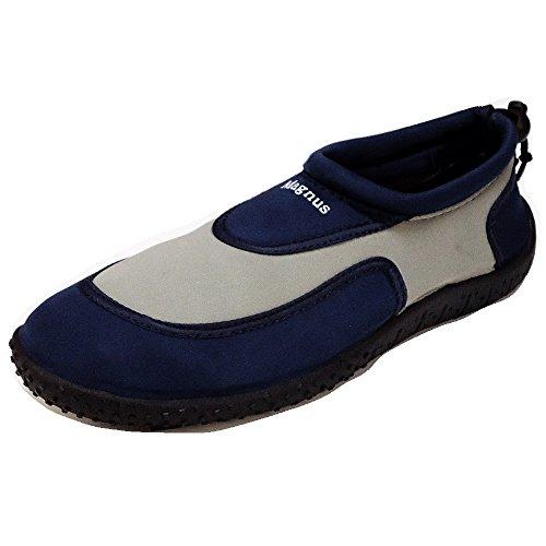 Badelatschen Pantoffel Damen Hausschuhe Clogs Schuhe Neu 172C Pantoletten Navy Badeschuhe Herren TnqaXqwAZ