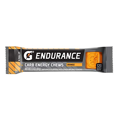 Gatorade Endurance Carb Energy Chews, Orange (Pack of 21) Net Wt 28.1 Ounce