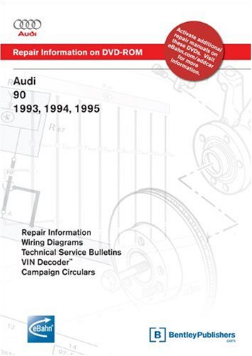 'Audi 90 1993, 1994, 1995: Repair Manual on DVD-ROM (Windows 2000/XP)
